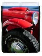 1952 Frazer-nash Le Mans Replica Mkii Competition Model Tire Emblem Duvet Cover