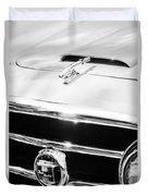 1953 Nash-healey Convertible Grille Emblem Duvet Cover