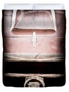 1953 Nash-healey Roadster Grille Emblem Duvet Cover