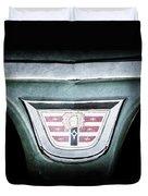1956 Dodge Emblem Duvet Cover