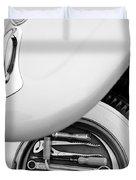 1956 Volkswagen Vw Bug Tool Kit Duvet Cover