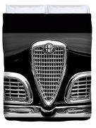 1959 Alfa Romeo Giulietta Sprint Grille Duvet Cover