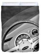 1959 Devin Ss Steering Wheel Duvet Cover