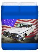 1959 Edsel Ford Ranger Duvet Cover