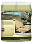 1960 Chrysler 300-f Muscle Car Duvet Cover