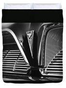 1961 Pontiac Catalina Grille Emblem Duvet Cover