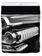 1962 Dodge Polara 500 Taillights Duvet Cover