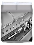 1964 Chevrolet Impala Taillights And Emblems Duvet Cover