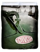 1965 Divco Milk Truck Hood Ornament Duvet Cover