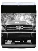 1965 Shelby Prototype Ford Mustang Duvet Cover