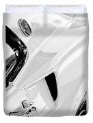1969 Ford Mustang Boss 429 Emblem Duvet Cover