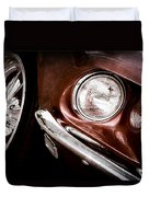 1969 Ford Mustang Mach 1 Front End Duvet Cover