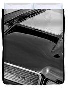1972 Oldsmobile 442 Grille Emblem Duvet Cover