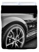 2007 Ford Mustang Shelby Gt Painted Bw   Duvet Cover