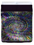 3 D Dimensional Art Abstract Duvet Cover