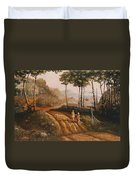 A Country Lane Duvet Cover