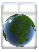 A Greener Earth Duvet Cover