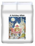 A Holiday Affair Duvet Cover