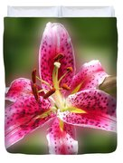 A Lilly For You Duvet Cover