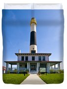 Absecon Lighthouse Duvet Cover