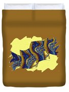 Abstract Fusion 177 Duvet Cover