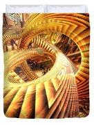 Abstract That Twisted Escher Fx  Duvet Cover