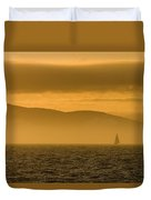 Acadia National Park Sunset Duvet Cover