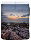 Acadia Rocky Sunrise Duvet Cover
