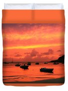 After Sunset Duvet Cover
