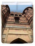 Agra Fort In India Duvet Cover