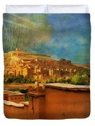 Ait Benhaddou  Duvet Cover by Catf