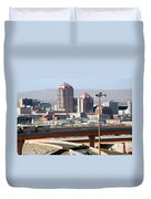 Albuquerque Skyline Duvet Cover