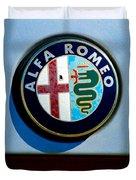 Alfa Romeo Emblem Duvet Cover