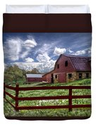 All American Duvet Cover by Debra and Dave Vanderlaan