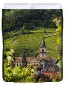 Alsace Church Duvet Cover