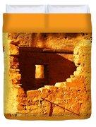 Anasazi Ruins Duvet Cover