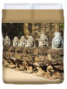 Angkor Thom Duvet Cover
