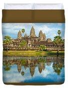 Angkor Wat - Cambodia Duvet Cover