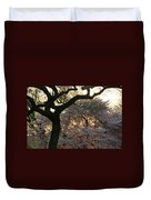 Angry Trees At Sunset Duvet Cover