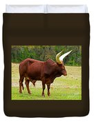 Ankole-watusi Cattle Duvet Cover