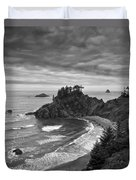 Approaching Storm Duvet Cover by Andrew Soundarajan