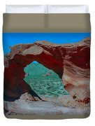 Arch Rock - Valley Of Fire State Park Duvet Cover