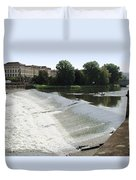 Arno River 2 Duvet Cover