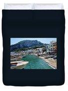 Arrival To Capri  Duvet Cover
