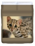 Asian Leopard Cub Duvet Cover