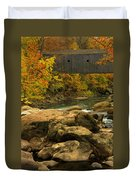 Autumn At Bulls Bridge Duvet Cover