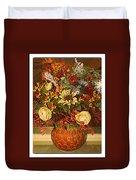 Autumn Blossoms Duvet Cover