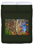 Autumnal Abstracious Duvet Cover