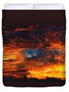 Awe Inspiring Sunset Duvet Cover