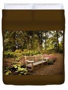 Azalea Garden Duvet Cover